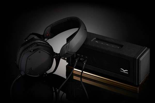 V-MODA REMIX Portable Bluetooth Speaker with Headphone Amplifier