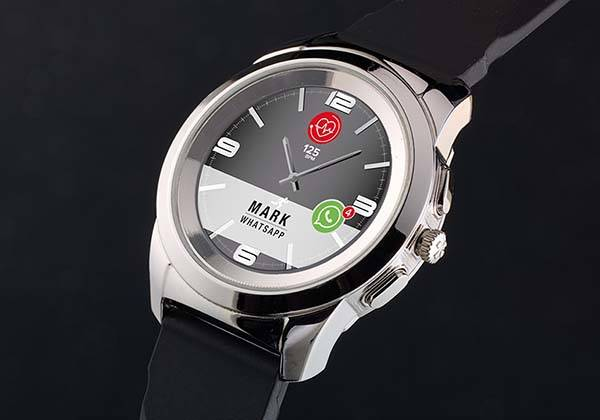 ZeTime Smartwatch with Physical Watch Hands
