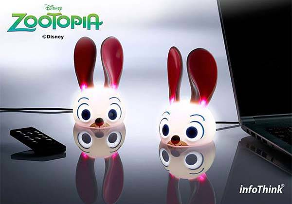 Zootopia Judy Rabbit USB LED Lamp