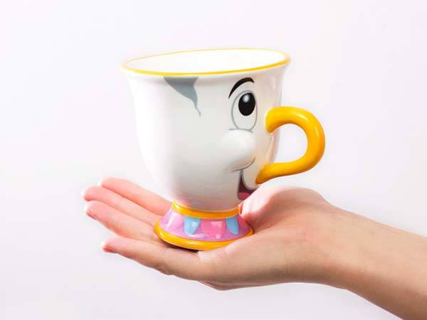 Beauty and the Beast Chip Coffee Mug