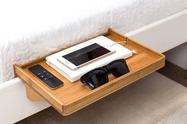BedShelfie Detachable Minimal Nightstand