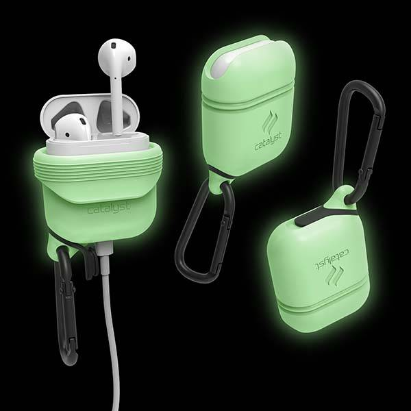Catalyst Glow-in-the-dark Waterproof AirPods Case
