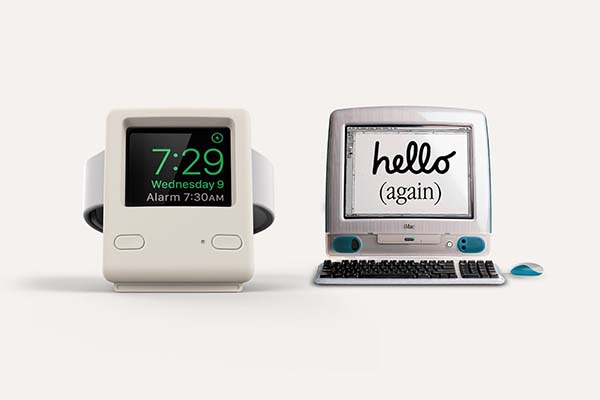 Elago W4 iMac G3 Apple Watch Stand