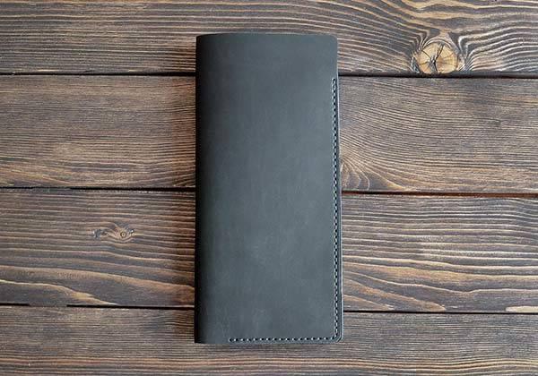 Handmade Customizable Leather Travel Wallet