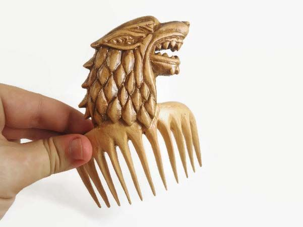 Handmade Game of Thrones Hair Combs