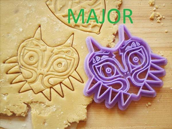 Handmade Legend of Zelda Cookie Cutter Set