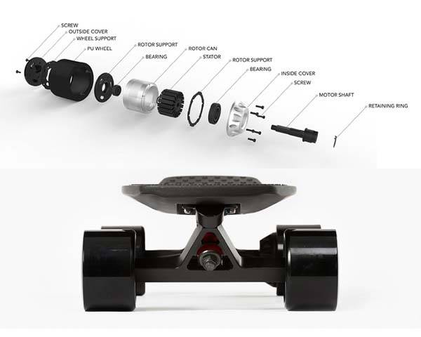 Lou App-Enabled Electric Skateboard