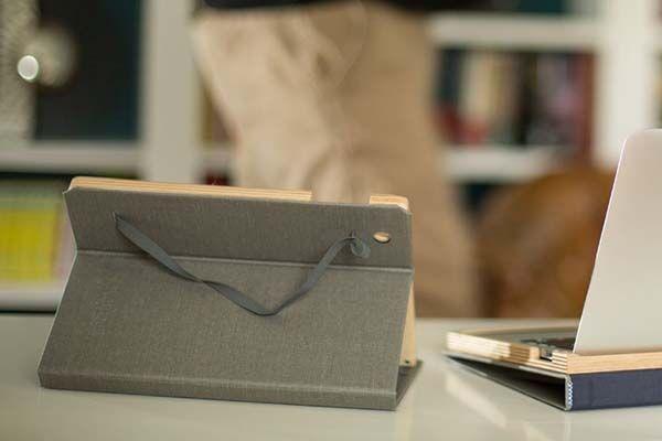 Pad&Quill Contega Linen iPad 9.7-Inch Case