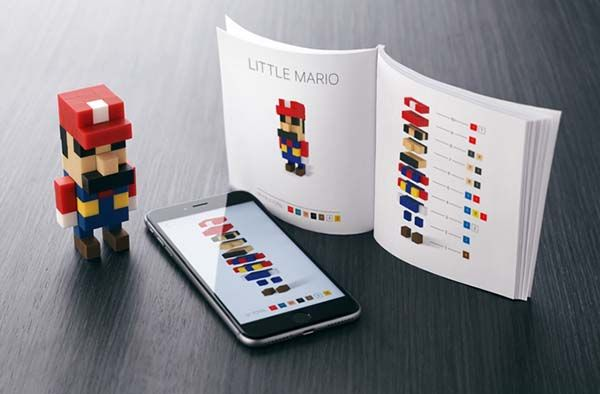 PIXIO Magnetic Building Blocks for Pixelated Creations