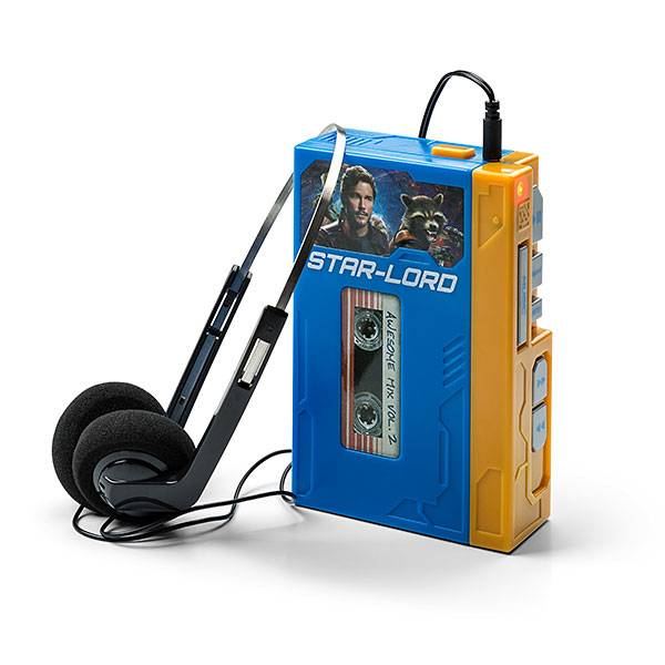 Star Lord's Walkman with Headphones Retro Player