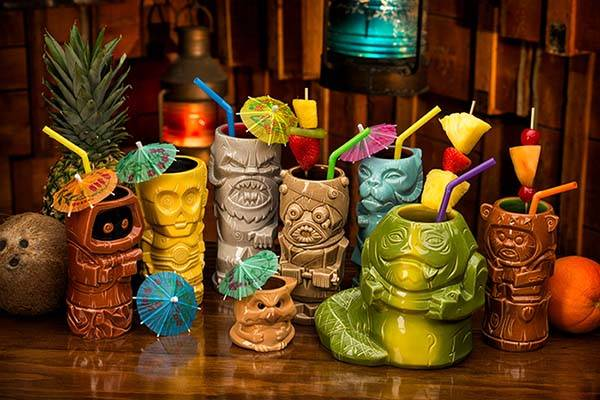 Star Wars Geeki Tiki Mugs - Jabba the Hutt and Salacious Crumb