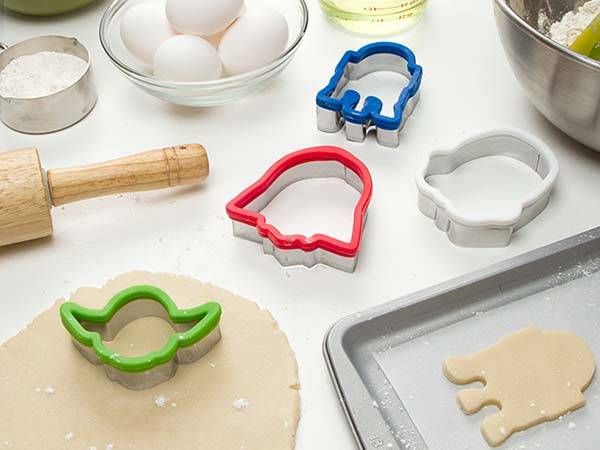 Star Wars Minimal Cookie Cutter Set