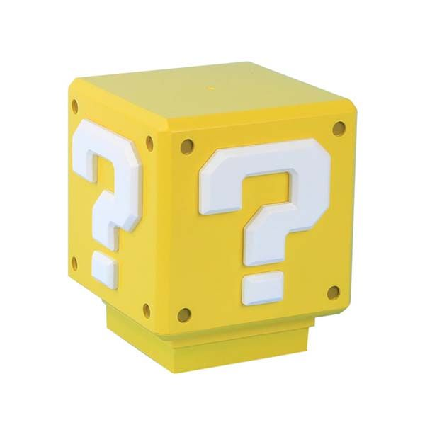 Super Mario Question Block Accent Lamp With Classic Coin