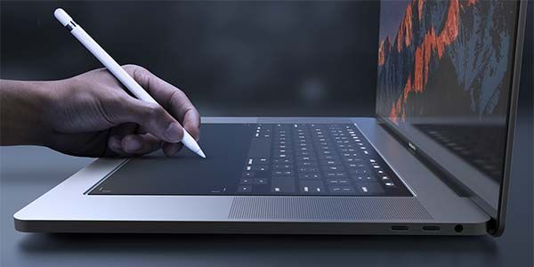 The Concept MacBook Pro 2018 with a Touch Bar Styled Keyboard
