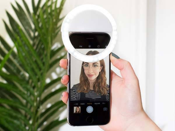 Selfie LED Ring Light for Smartphones