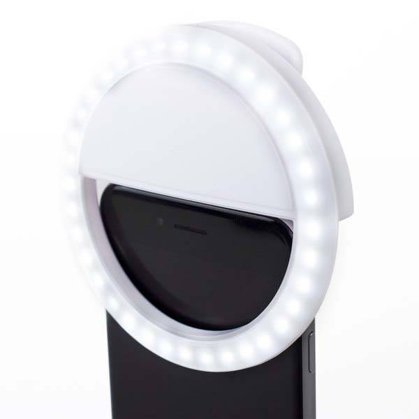 Selfie LED Ring Light for Smartphones