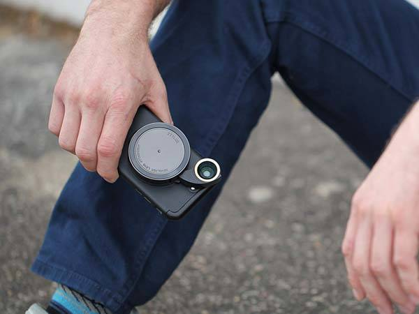 Ztylus Revolver iPhone 7/7 Plus Case with Camera Lens Kit