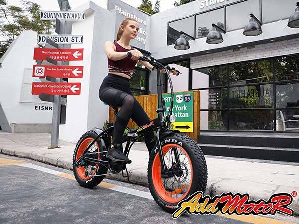 Addmotor Motan M-150 Folding Electric Bike