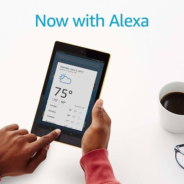 Amazon All-New Fire HD 8 Tablet with Alexa