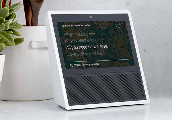 Amazon Echo Show Touchscreen Equipped Smart Speaker