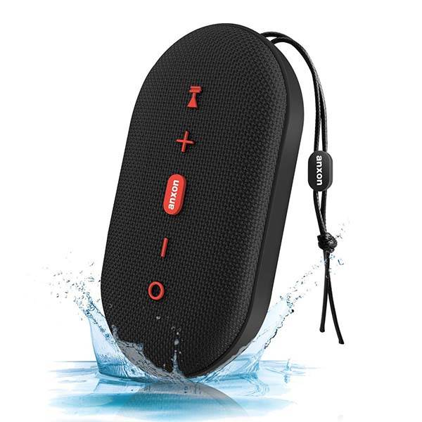 Anxon IPX5 Waterproof Portable Bluetooth Speaker