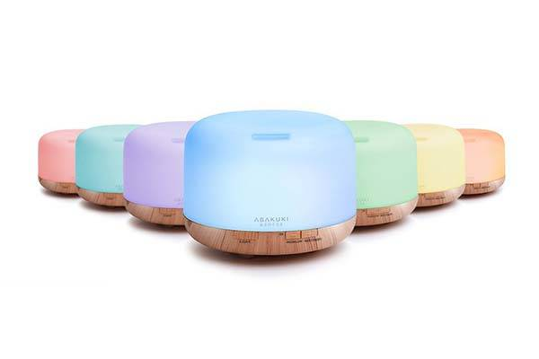 Asakuki WiFi Essential Oil Diffuser Supports Amazon Alexa