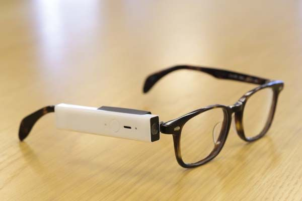 Blincam Wearable Camera Fits Eyeglasses