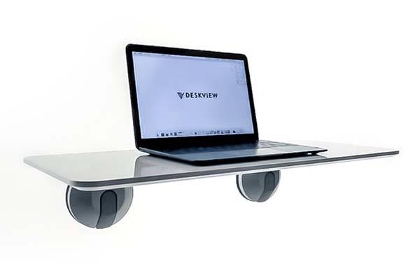 Deskview Portable Window Mounted Standing Desk Gadgetsin