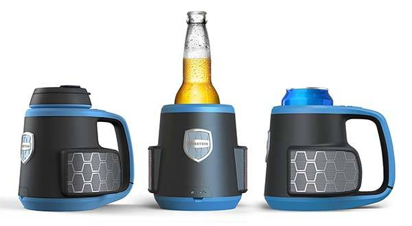 DubStein Portable Bluetooth Speaker with Drink Vessel