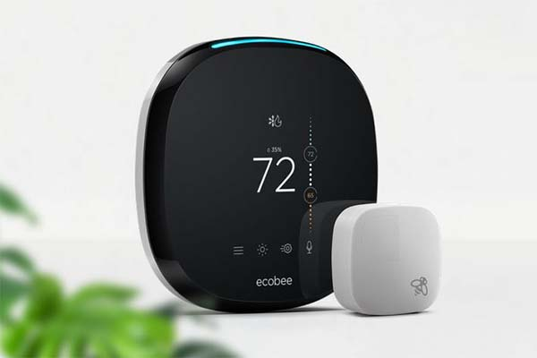 ecobee4 Smart WiFi Thermostat with Amazon Alexa