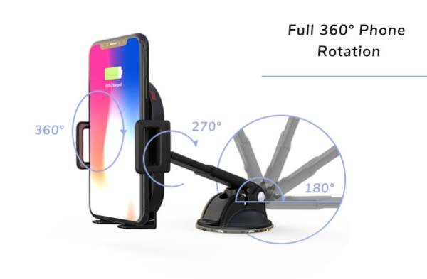 Esoqi Wireless Charging Car Mount