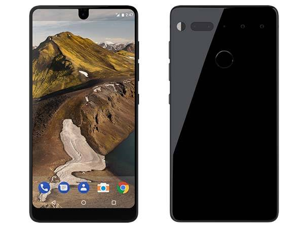 Essential Phone with Titanium Frame, Full Display and Dual Camera