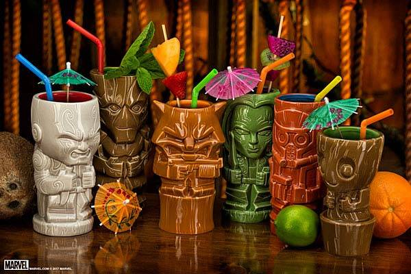 Guardians of the Galaxy Geeki Tiki Mugs