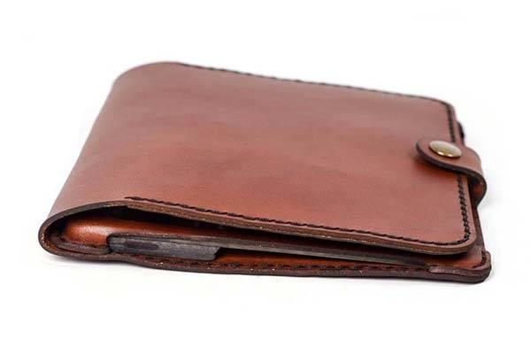 Handmade Customizable Kindle Oasis Leather Case