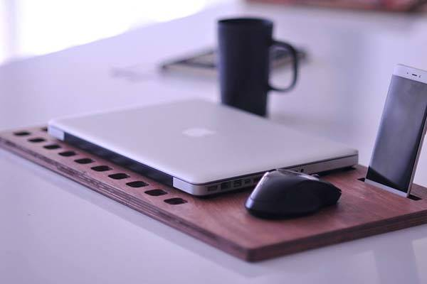 Handmade Customizable Wooden Lap Desk