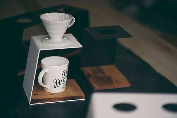 Handmade Minimal Pour Over Coffee Stand
