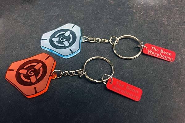 Handmade Overwatch Keychains