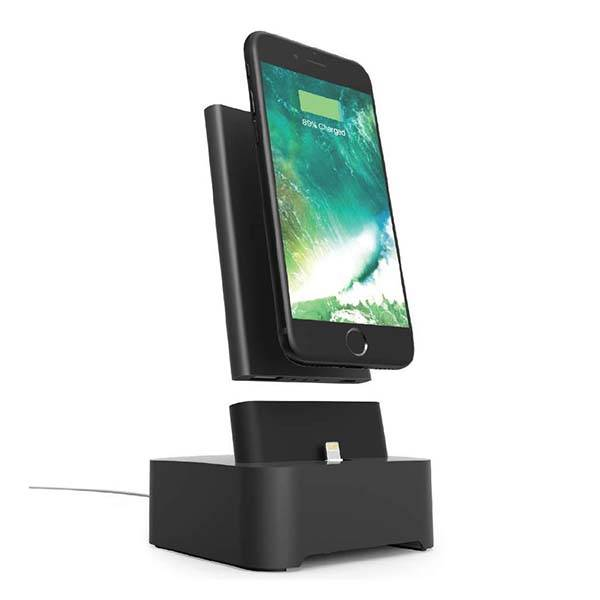 iHome Charging Station with Detachable Portable Power Bank
