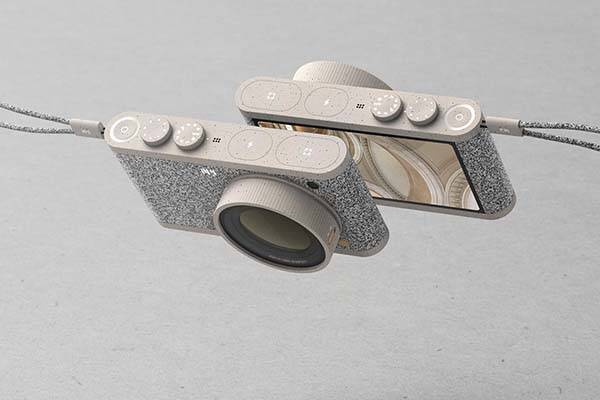 Img Concept Camera Features Ceramic Body and Fabric Exterior