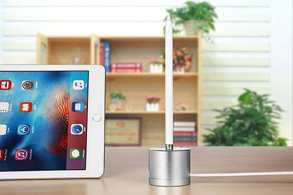 KeyEntre Apple Pencil Charging Dock with Built-in Cable and USB Port