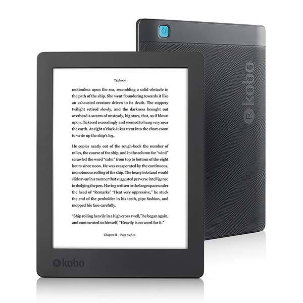 New Kobo Aura H2O Waterproof eReader