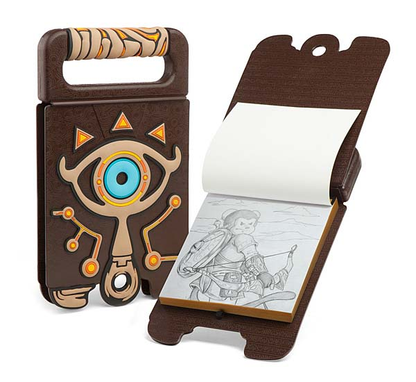 Legend of Zelda Breath of the Wild Sheikah Slate Sketchbook