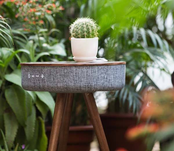 Mellow Bluetooth Speaker Table with Power Bank