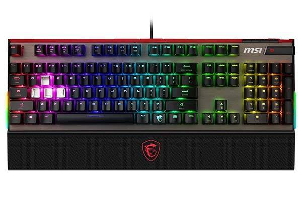 MSI Vigor GK80 Mechanical Gaming Keyboard