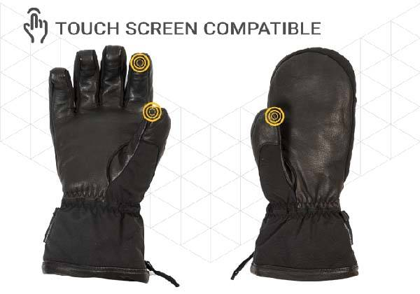 Raven Heated Gloves with Three Heating Levels