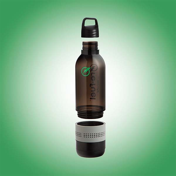 Re-Fuel 2-In-1 Water Bottle with Integrated Bluetooth