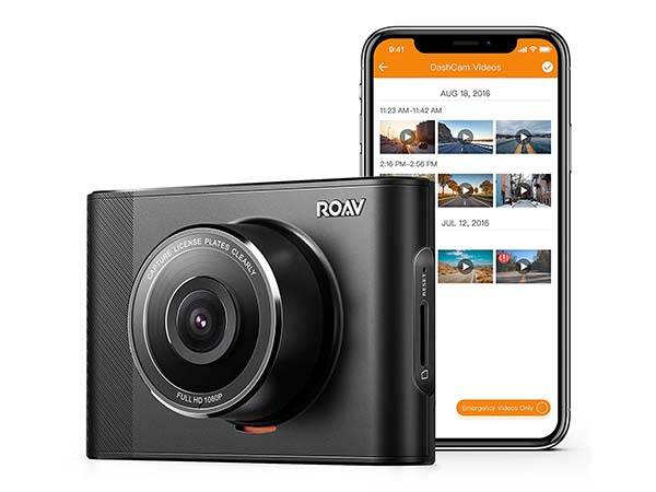 Roav A1 Dash Cam with Enhanced Night Vision