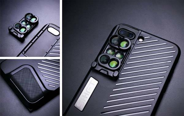 Shiftcam iPhone 7 Plus Case with 6 Optical Lenses