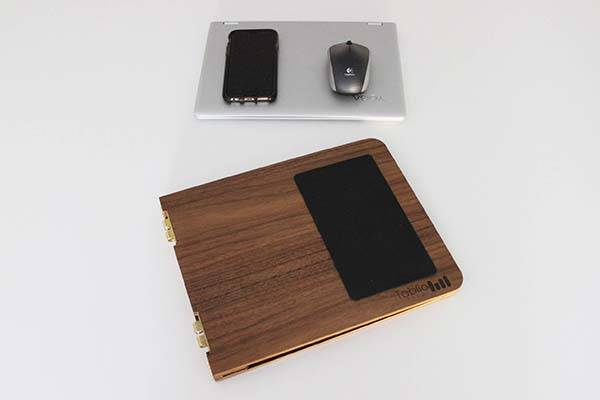 Tablio Flip Handmade Wooden Folding Lap Desk