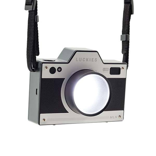 The Camera Shaped Bedside Light Gadgetsin